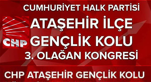 CHP Ataşehir Gençlik Örgütünde Kongre Heyecanı