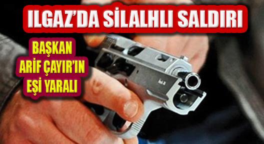 Ilgaz'da Silahlı Saldırı: Belediye Başkanı Eşi Yaralandı