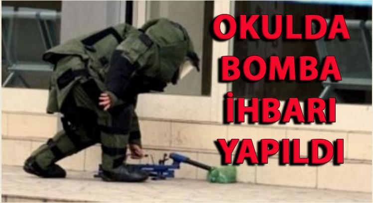 ATAŞEHİR'DE MESLEK LİSESİNDE BOMBA İHBARI