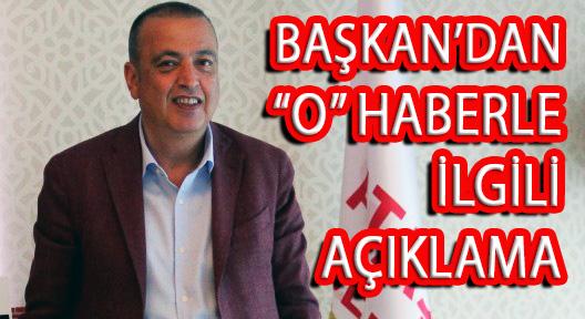 BATTAL İLGEZDİ'DEN 'O' HABERE BASIN AÇIKLAMASI!