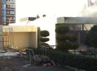 Ağaoğlu'nun Ataşehir'deki Ofisinde Yangın Çıktı
