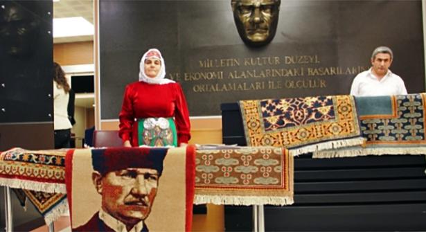 'El Emeği, Göz Nuru' Sergisi Ataşehir Novada AVM Nikah Salonu'nda