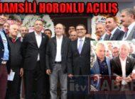 Ataşehir Trabzonlular Derneği'ne 'Hamsili' Açılış