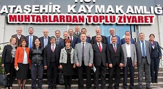 """""""MUHTARLAR GÜNÜ"""" ZİYARETLERLE KUTLANDI"""