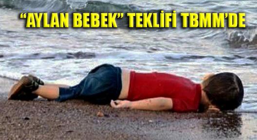 'CHP'DEN AYLAN BEBEK TEKLİFİ'