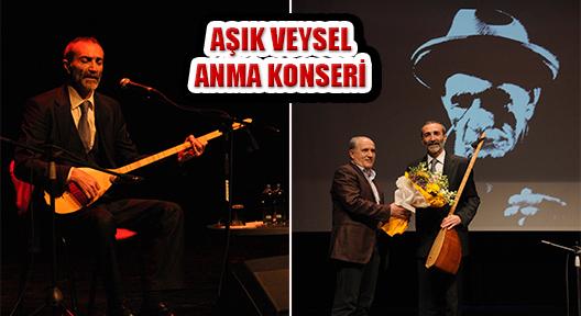 'CENGİZ ÖZKAN'DAN AŞIK VEYSEL ANMA KONSERİ