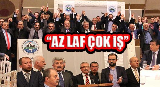 ARİF KUŞÇU 'AZ LAF ÇOK İŞ' SLOGANIYLA SİYAD'A ADAY