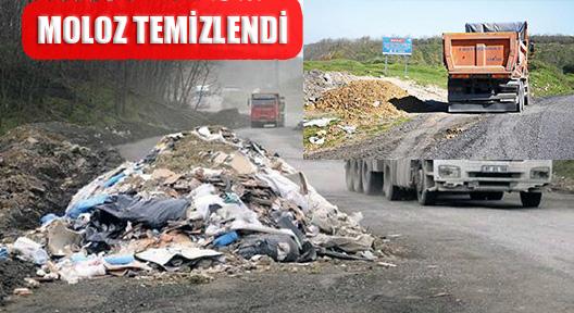 BELGRAD ORMANI'NDAKİ MOLOZ VE DÖKÜNTÜLER TEMİZLENDİ