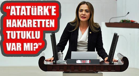 İLGEZDİ 'ATATÜRK'E HAKARETTEN TUTUKLU VAR MI'