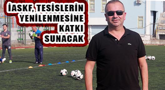 EKREM KÖSE 'HEDEF, AMATÖR SPORA TESİS KAZANDIRMAK'
