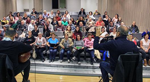 Ataşehir Belediyesi THM Korosu Dönem Sonu Konserine Hazırlanıyor