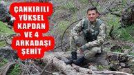 Bitlis Kırsalında Operasyonda Çığ Düştü: 5 Asker Şehit