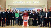 CHP Gençlik Kolları Genel Başkanı Seçildi