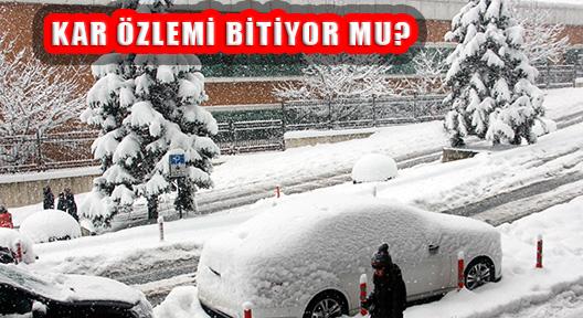 İstanbul İçin Kar Vakti: Kar Yağışı Edirne'den Geliyor