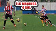 Ataşehir 5'ledi, Tetyana'dan Ayağının Tozuyla 4 Gol