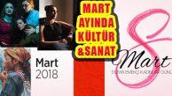 Ataşehir'de Kültür Sanat, Mart Ayı Programı