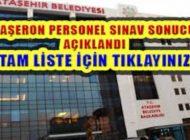 Ataşehir Belediyesi Taşeron Personel Sınav Sonucu Açıklandı