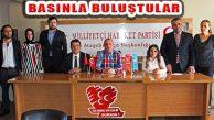 MHP Ataşehir İlçe Başkanı Sadun Bizel Basınla Buluştu