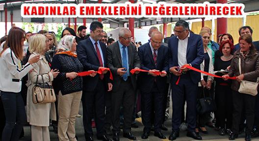 Ataşehir Kadın Emeği Pazarında Tezgahlar Kuruldu