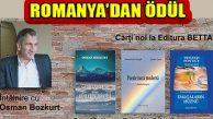 Şair Osman Bozkurt'a Romanya'dan Ödül