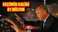 Cumhurbaşkanı Erdoğan: Seçimin Galibi Demokrasi, Milli İrade
