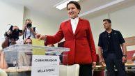 İyi Parti Cumhurbaşkanı Adayı Meral Akşener Oyunu Kullandı