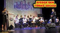 AYEDER THM Gönüllüleri'nden MSKM'de Türkü Gecesi