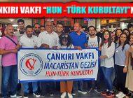 Çankırı Vakfı Macaristan'da Hun – Türk Kurultayı'na Katılıyor