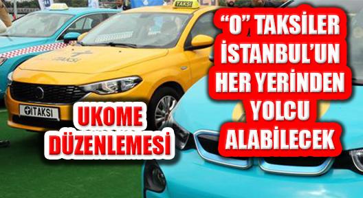 İstanbul Taksileri ile ilgili 'İBB UKOME' Kararı