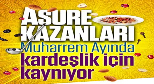 Ataşehir'de 7 Gün Aşure Kazanları Kaynayacak