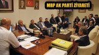 Maltepe Birlik Platformu'ndan Ak Parti Maltepe Ziyareti