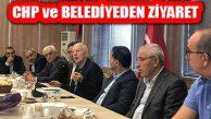 Ataşehir Belediyesi ve CHP'den YEDPA'ya ziyaret