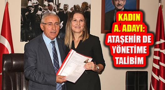 Ataşehir Belediye Başkanlığına Kadın Aday Adayı
