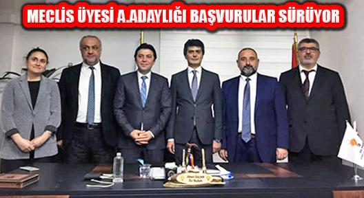 Ak Parti Ataşehir'de Meclis Üyesi Aday Adaylık Başvurusu Sürüyor