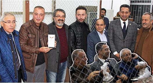 Ataşehir Güvercin Severler Derneği Merkezi Küçükbakkalköy'de açıldı