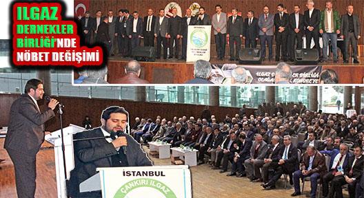 Ilgaz Dernekler Birliği'nde Bayrak Mustafa Anaçal'a Geçti