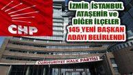 CHP Lider Kılıçdaroğlu'nun PM'ye Sunduğu Aday Listesi