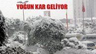 Marmara Bölgesine Yoğun Kar Yağışı Geliyor