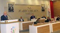 Ataşehir Belediye Meclisi Seçim Gölgesinde toplandı