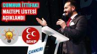 Cumhur İttifakı Maltepe Meclis Üyesi Adayları Açıklandı