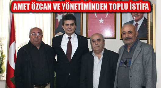 Ak Parti Ataşehir İlçe Başkan ve Yönetimi İstifa Etti