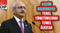 Kılıçdaroğlu, 12 Maddelik 2019 Yerel Seçim Bildirgesini Açıkladı