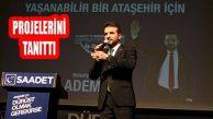 Adem Boz, Ataşehirlilerle Hazırladığı 41 Projesini Tanıttı