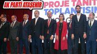 İsmail Erdem Mahalli Seçim Projelerini Partililere Tanıttı