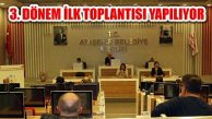 Ataşehir Belediye Meclisi 3. Dönem İlk Toplantısını Yapıyor
