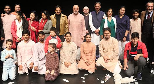 Ishara Kukla Tiyatrosu'yla Gandhi Ataşehir'den Geçti