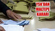 YSK'dan Maltepe Sayım Kararı: Yapılan Sayım Geçerli