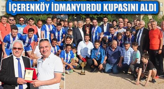 2.Amatör Küme Şampiyonu İçerenköy İdmanyurdu Kupasını Aldı
