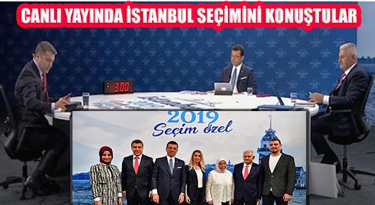 Ekrem İmamoğlu ile Binali Yıldırım İstanbul'u Konuştu