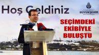 İmamoğlu, CHP ve İYİ Parti ile İstanbul Gönüllüleri İle Buluştu